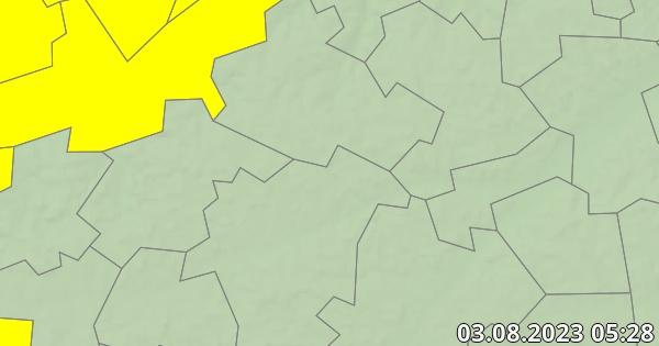 Unwetterwarnung Landshut