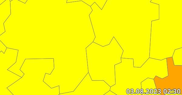 Unwetterwarnung Hagen